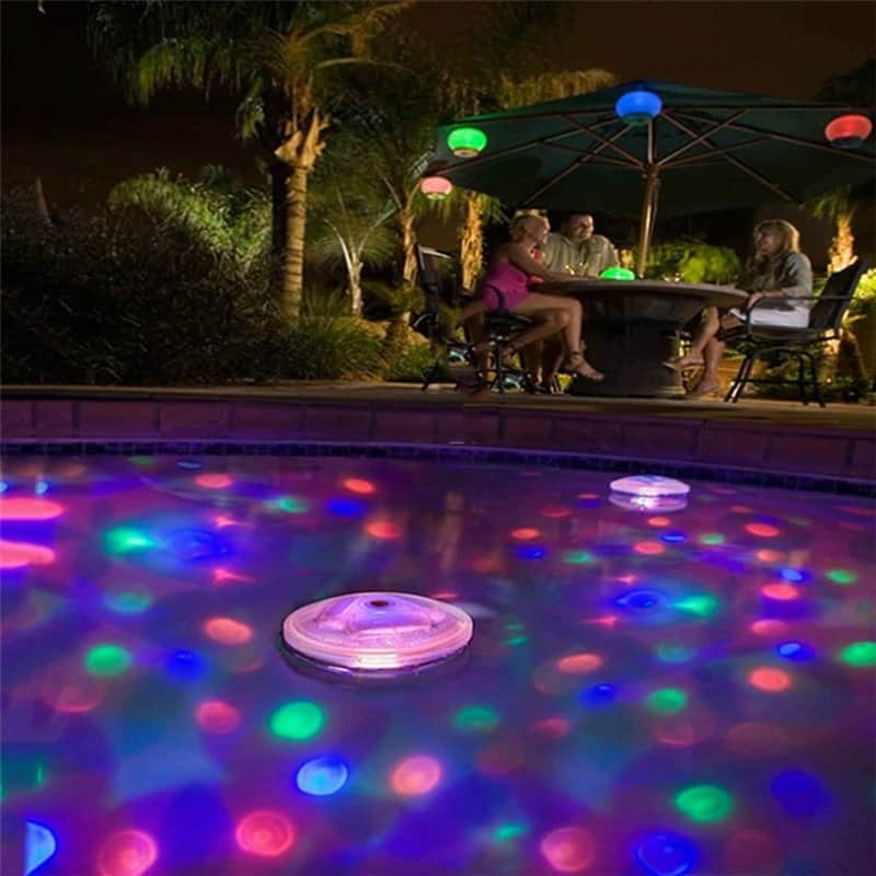 Swimming Pool Lights Underwater Decors