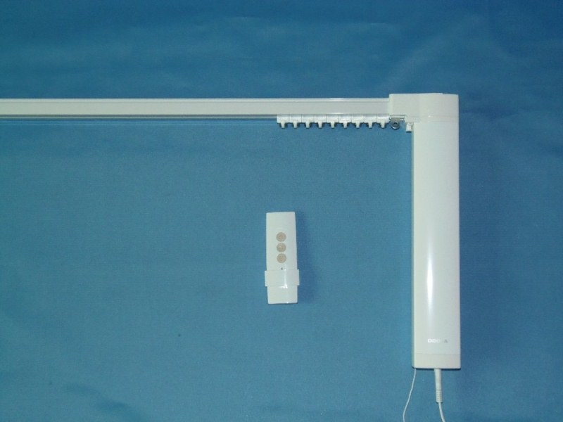 Curtain Track Motorized Low-Noise Device