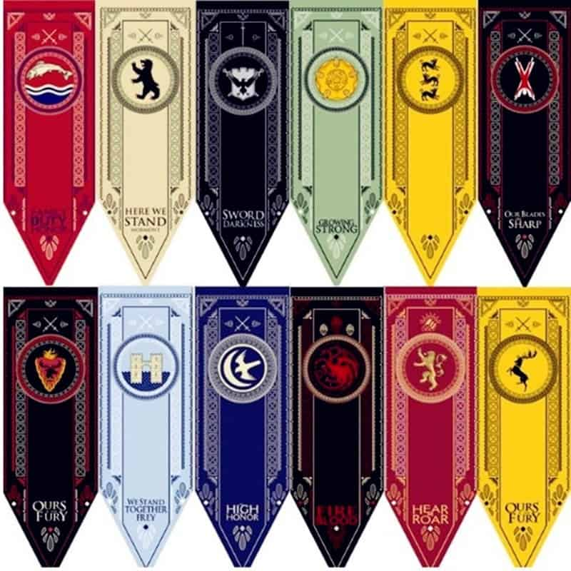 Banner Game Of Thrones Flags